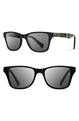 Women's Shwood 'Canby' 54Mm Polarized Acetate And Metal Sunglasses