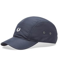 Fred Perry Nylon 5 Panel Cap Blue