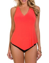 Magic Suit By Miraclesuit Taylor Racerback Tankini Orange