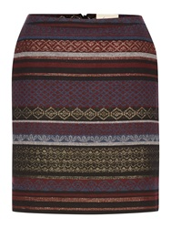 Linea Freya Jacquard Skirt Multi Coloured