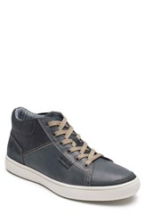 Rockport 'S Colle Sneaker Blue Grey Leather