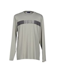 Trussardi Jeans T Shirts Light Grey