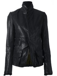 Haider Ackermann Stand Collar Jacket Black