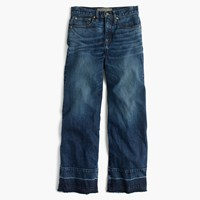 J.Crew Point Sur Wide Leg Jean Newville Wash