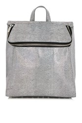 Topshop Frog Backpack By Skinnydip Silver