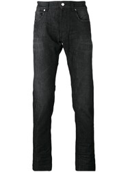 Versace Collection Slim Fit Jeans Black
