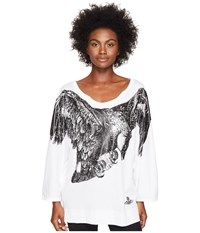 Vivienne Westwood Eagle Batwing T Shirt Optical White