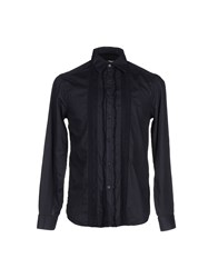 Ermanno Scervino Scervino Street Shirts Shirts Men Dark Blue