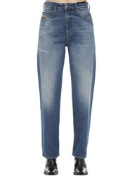 Diesel Stone Wash Straight Jeans Blue