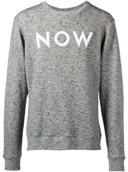 Each X Other Now Applique Marled Sweater