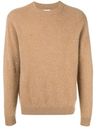 Coohem Crewneck Cashmere Jumper Brown