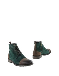 Thompson Ankle Boots Green