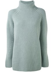 Iris Von Arnim Polo Jumper Women Cashmere L Green