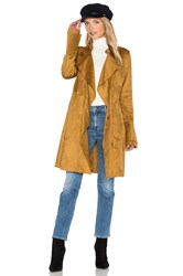 Free People Faux Suede Meadow Jacket Tan