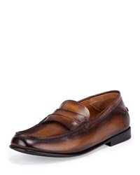 Berluti Gaspard Conduit College Loafer Brown