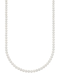 Belle De Mer Pearl Necklace 20' 14K Gold A Akoya Cultured Pearl Strand 6 6 1 2Mm