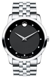 Movado Men's 'Museum' Bracelet Watch 40Mm