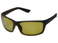 Zeal Optics Morrison Burnt Whiskey Polarized Automatic Lens Athletic Performance Sport Sunglasses Green