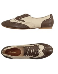Alberto Moretti Arfango Lace Up Shoes Dark Brown