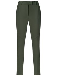 Egrey Skinny Trousers Green