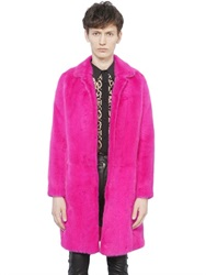 Saint Laurent Mink Fur Coat