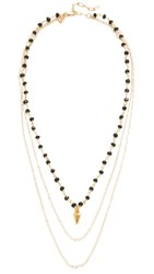 Vanessa Mooney The Delilah Necklace Gold