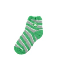 For Bare Feet Boston Celtics Sleep Soft Candy Striped Socks Green White