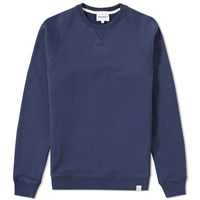 Norse Projects Ketel Crew Sweat Blue