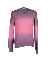 Gaudi' Knitwear Jumpers Men Purple