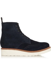 Grenson Emma Suede Ankle Boots