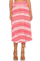 Clayton Cameron Skirt Coral