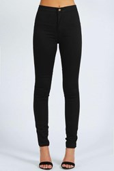 Boohoo Avah High Rise Disco Jeans Black