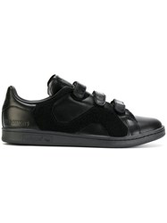 Raf Simons Adidas By Stan Smith Sneakers Men Leather Rubber 10 Black