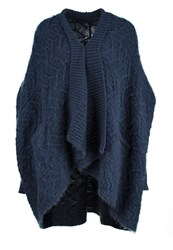 Religion Cult Cardigan Denim Blue