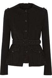 Tom Ford Belted Stretch Wool Jacket