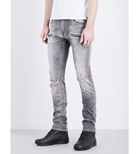 Replay Jondrill Slim Fit Tapered Jeans Grey Melange