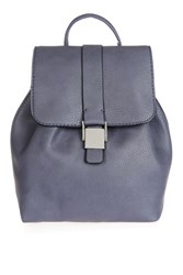 Topshop Glasgow Mini Backpack Blue