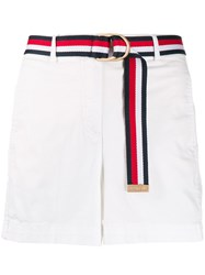 Tommy Hilfiger Belted High Rise Shorts 60