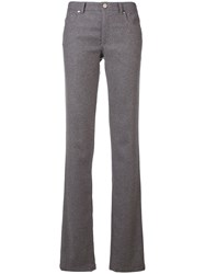 Red Valentino Slim Bootleg Trousers Grey