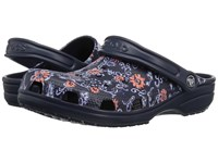 Crocs Classic Graphic Clog Navy Clog Mule Shoes