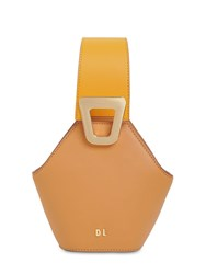 Danse Lente Xs Jhonny Smooth Leather Bag Toffee