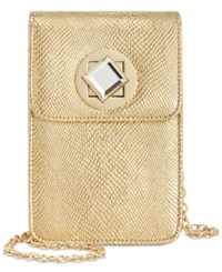 Inc International Concepts Phone Clutch Crossbody Only At Macy's Gold