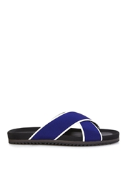 Danward Nylon And Leather Sandals