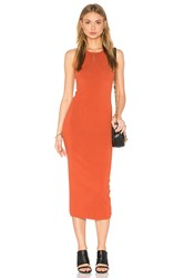 A.L.C. Marc Dress Burnt Orange
