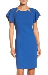 Ivanka Trump Women's Scuba Sheath Dress