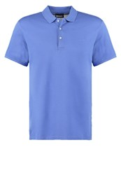 Dkny Polo Shirt Purple Blue