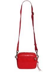 Givenchy Logo Reversible Leather Crossbody Bag Red