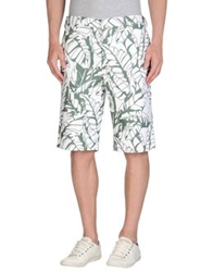 Black Fleece By Brooks Brothers Bermudas White