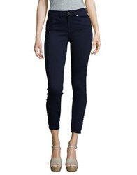 Ivanka Trump Skinny Ankle Pants Super Dark