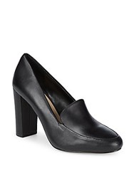 Saks Fifth Avenue Ava Leather Pumps Black